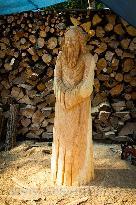 Dřevo socho kování 2016