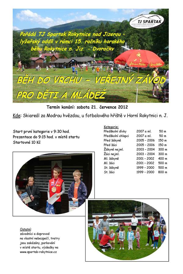 běh do vrchu 2012