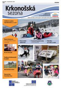 Krkonošská sezóna zima 2013